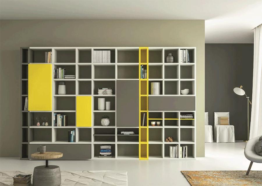 шкафы библиотеки на заказ сохранили