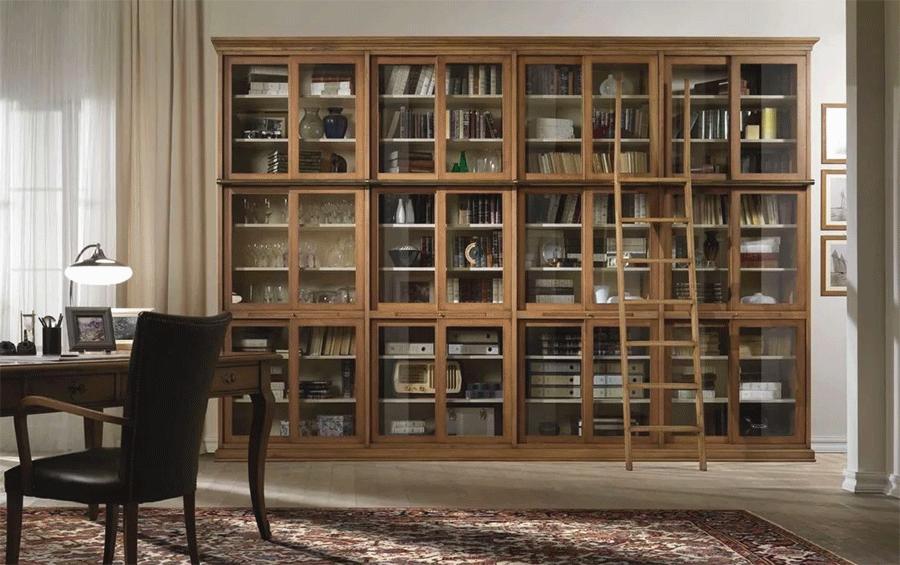 столицы книжный шкаф угловой купить